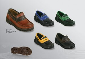 College children's leather shoes
