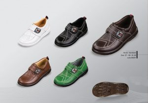 Sandbad children's leather shoes
