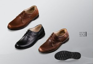 Men's leather shoes