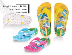 RnginKaman-Dolfin Children's Sandals