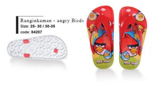 RnginKaman-angry Birds Children's Sandals